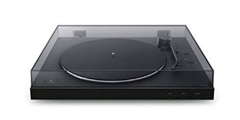 RRP £194.00 Sony PS-LX310BT Bluetooth Turntable with built-in Phono Pre-Amp, 2 speeds and 3 gain m