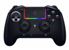 RRP £139.00 Razer Raiju Ultimate (2019) - Wireless and Wired Gaming Controller for PS4 + PC (Wired