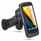 RRP £490.00 Android Pistol Grip Scanner Zebra 2D/1D/QR MUNBYN Barcode Reader, 5.2'' IPS FHD Touch