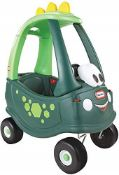 RRP £59.00 Little Tikes Dino Cozy Coupe Car - Ride-On with Real Working Horn, Clicking Ignition S