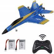 Makerstack RC Flugzeug F-18 ferngesteuertes Flugzeug 2,4 GHz 3,5 Kanal 6 Achsen Gyro R