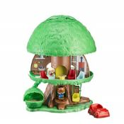 Bandai V700200 Timber Tots by Klorofil-Magic Tree House with 2 Figures-Eliot from The