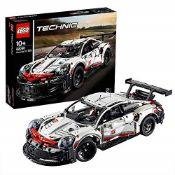 RRP £118.00 LEGO Technic 42096 Porsche 911 RSR Race Car Advanced Building Set, Exclusive Collectib