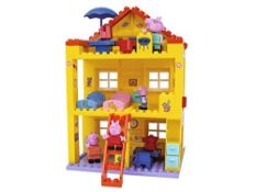 MISSING ONE FIGURINE Big Peppa Pig Peppas House Building Sets