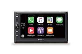 RRP £349.00 Sony XAV-AX100 6.4 inch Media Receiver with Bluetooth, CarPlay and Android Auto, 4 x 5