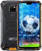 RRP £265.00 DOOGEE S68 Pro Rugged Mobile phone, Helio P70 Octa Core 6GB 128GB, IP68 Waterproof Sho
