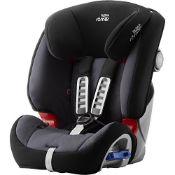 RRP £190.00 Britax Römer car seat 9-25 kg, MULTI-TECH III, group 2/3, Storm Grey
