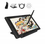 RRP £312.00 HUION Kamvas 16 (2021) Graphics Drawing Tablet Monitor, 15.6 '' HD Full-Laminated with