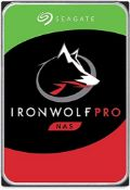 RRP £497.00 Seagate IronWolf Pro 16 TB NAS Internal Hard Drive HDD  3.5 Inch SATA 6 GB/s 7200 R