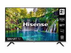 RRP £275.00 [BROKEN SCREEN] HISENSE 40A5600FTUK 40-inch Full HD 1080P Smart TV with dbx-tv Sound,