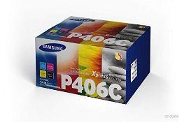 RRP £131.00 Samsung SU375A CLT-P406C Toner Cartridges, B