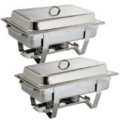 RRP £58.00 Olympia S300 Milan Chafing Dish, 9L