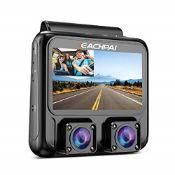 RRP £85.00 EACHPAI X100 Plus 4K HD WiFi Dashcam, Dual Ca