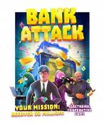 John Adams 10790 Bank Attack Game, Multi