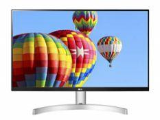 "RRP £144.00 LG 27ML600S Moniteur 27"" Full HD LED IPS, 19"
