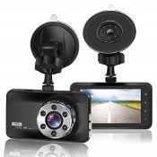 ORSKEY Dash Cam 1080P Full HD Car Camera DVR Dashb