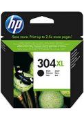 HP 304 Black Original Printer Ink Cartridge for HP Deskjet XL black