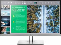 RRP £220.00 HP EliteDisplay E243 (23.8 inch / Full HD) Business Monitor (HDMI, DisplayPort, VGA, U