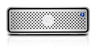 RRP £692.00 G-Technology G-DRIVE 14 TB with Thunderbolt 3, Silver