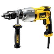 RRP £199.00 Dewalt D21570K-LX 2 Speed Dry Diamond Drill, 110 V, 1300 W, Yellow/Black, 110 Volt
