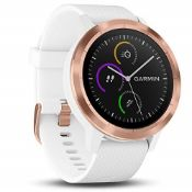 RRP £222.00 Garmin Vivoactive 3 GPS Smartwatch with Built-in Sports Apps and Wrist Heart Rate - Ro