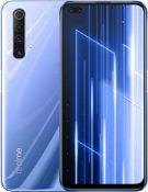RRP £277.00 Realme X50 5G - Smartphone 128GB, 6GB RAM, Dual Sim, Ice Silver