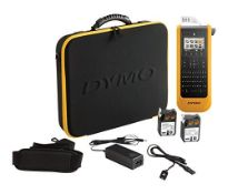 RRP £260.00 Dymo XTL 300 Kit Label Maker QWERTY Keyboard (UK/IRE Version) with Carry case and 2 Ta