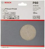 Bosch Professional 5 Pieces Sanding sheet M480 Best for Wood and Paint (wood and paint