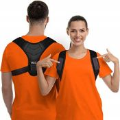 Posture Corrector for Men and Women, Upper Back Brace for Clavicle Support, Adjustable