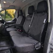 RRP £65.00 Waterproof Seat Cover Co, Tailored 3 Seat Front Set designed to fit the Ford Transit V