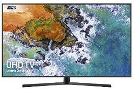 RRP £399.00 [BROKEN SCREEN] Samsung UE50NU7400 50-Inch Dynamic Crystal Colour 4K Ultra HD Certifie