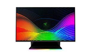 RRP £635.00 Razer Raptor 27 Inch Quad HD 144Hz G-SYNC Compatible HDR400 IPS Gaming Monitor ,Black
