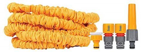 Hozelock 8230 8000 30m Superhoze Hosepipe, Yellow & Grey