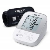 RRP £66.00 Omron X4 Smart Home Blood Pressure Monitor - Blood pressure machine for hypertension m