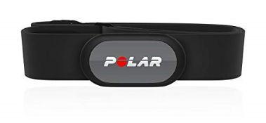 RRP £51.00 POLAR Unisex's H9 Sensor Bluetooth-Waterproof HR Monitor with Soft Chest Strap, Black,