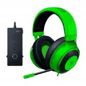 RRP £76.00 Razer Kraken Tournament Edition, Wired Esports Gaming Headset with Full Audio Control