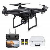 RRP £166.00 Potensic D58 GPS Drone with 2K Camera ,5G WiFi FPV Live Transmission Drone for Adults,