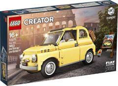 RRP £72.00 LEGO Creator Expert - Fiat 500 (10271)