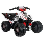 RRP £229.00 INJUSA - Quad Mercedes-Benz ATV 12V Licensed with Gear Change and Electric Brake Recom