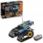 RRP £69.00 LEGO42095TechnicRemote-ControlledTrackedStuntRacerToy,Â