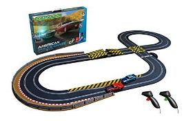 RRP £90.00 Scalextric C1405 American Police Chase (AMC Javelin v Dodge Challenger)