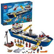 RRP £94.00 LEGO60266CityOceansExplorationShipFloatingToyBoat,DeepSeaUnderwa