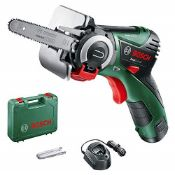 RRP £115.00 Bosch Home and Garden 06033C9070 EasyCut 12 LI, 12 V, Green