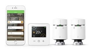 RRP £195.00 Drayton Wiser Multi-Zone Smart Thermostat and 2 Smart Radiator Thermostat Kit - Conven