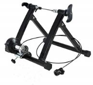 RRP £62.00 Bike Turbo Trainer, Foldable Indoor Bike Stationary Exercise Stand Bike Trainer Stand,