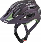 RRP £72.00 Alpina Women's CARAPAX 2.0 Cycling Helmet, Nightshade, 52-57