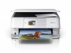 RRP £89.00 Epson Expression Premium XP-6105 Print/Scan/Copy Wi-Fi Printer, White, Amazon Dash Rep