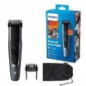Philips Beard and Stubble Trimmer/Hair Clipper for Men, Series 5000, 40 Length Setting