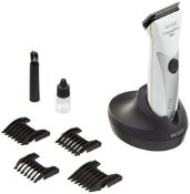 RRP £209.00 Moser Chrome Style Pro Professional Hair Clipper, White/Chrome