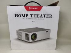 RRP £168.00 Projector, BOMAKER 7200 Native 1080P Project